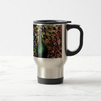 Peacock Majestic Travel Mug