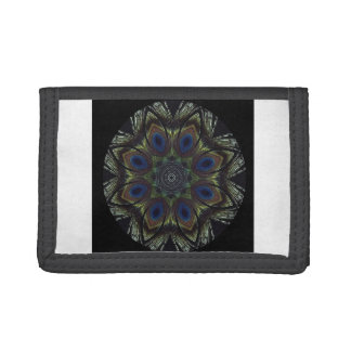 Peacock Mandala Wallet