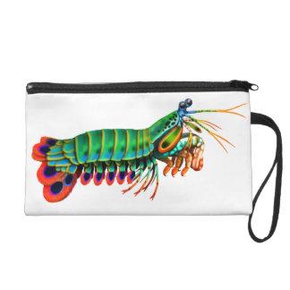 Peacock Mantis Shrimp Bagettes Bag