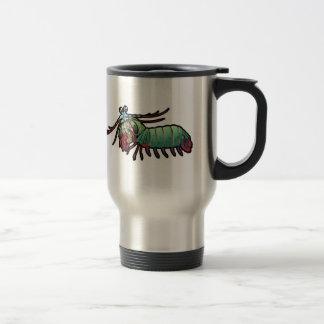 Peacock Mantis Shrimp Travel Mug