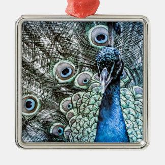 Peacock Metal Ornament