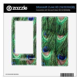Peacock Microsoft Zune HD (16/32/64GB) Skin Zune HD Decals