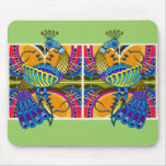 PEACOCK MOUSE PADGREEN MOUSE PAD
