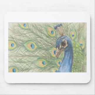 Peacock Mousemats