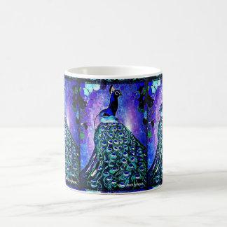 Peacock Mug by Carol Zeock