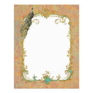 Peacock n Paisley Ornate Art Print Cards