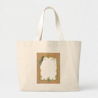 Peacock n Paisley Ornate Bag