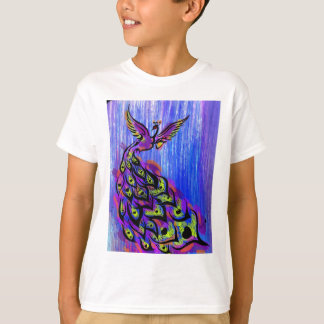 peacock nikhil shinde graphicartprint.jpg T-Shirt