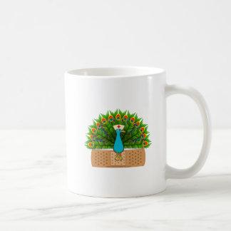 Peacock Nurse Coffee Mug