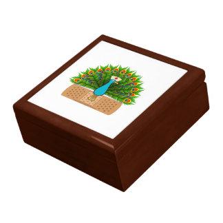 Peacock Nurse Jewelry Box
