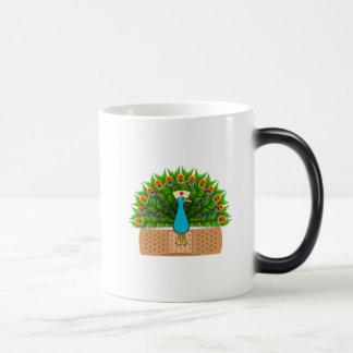 Peacock Nurse Magic Mug