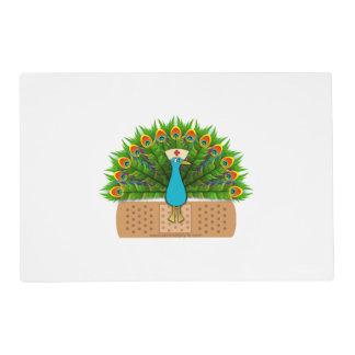 Peacock Nurse Placemat