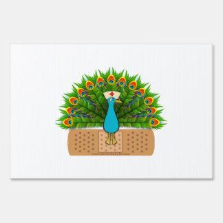 Peacock Nurse Sign