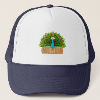Peacock Nurse Trucker Hat