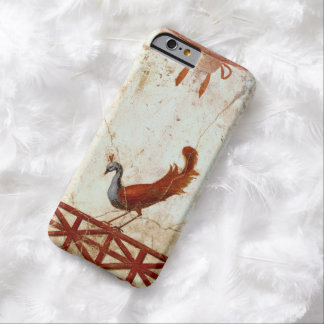 Peacock on Fresco Antique Painting iPhone 6 Case