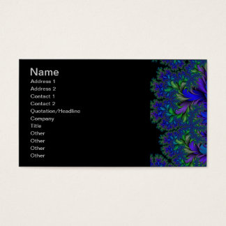 Peacock Ore 2 LG Business Card
