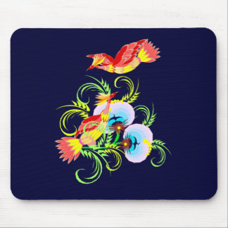 Peacock Pair Mouse Pad