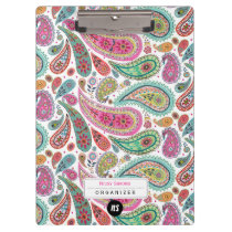 Peacock Paisley | Clipboard