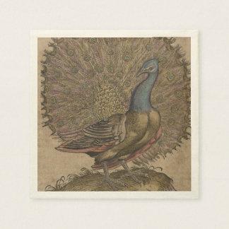 Peacock Paper Napkin