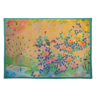 Peacock Paradise Placemat