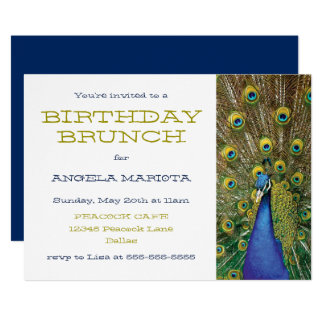 birthday brunch invitations & announcements | zazzle, Birthday invitations