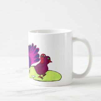 Peacock Party Coffee Mug