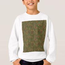 Peacock Pattern Sweatshirt