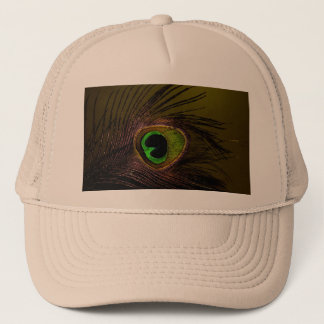 Peacock Peafowl Bird Trucker Hat