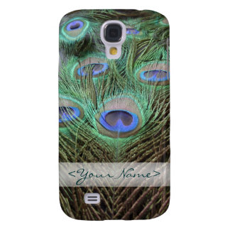 Peacock / Peafowl Feathers Color Photograph Samsung Galaxy S4 Cover