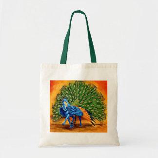 Peacock Pegasus Budget Tote Bag