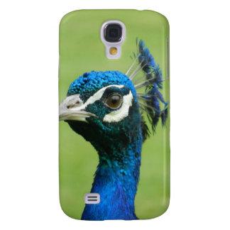 Peacock Photograph Galaxy S4 Cover