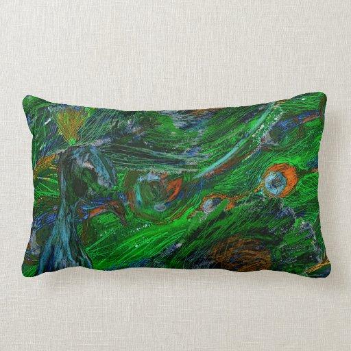 Peacock. Pillows