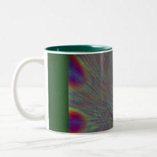 Peacock Planet Mug