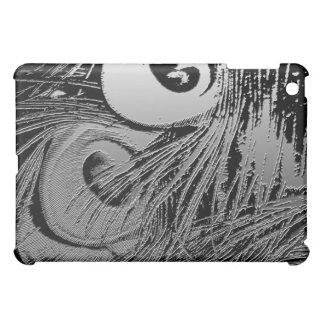 Peacock Plaster Feather Case For The iPad Mini