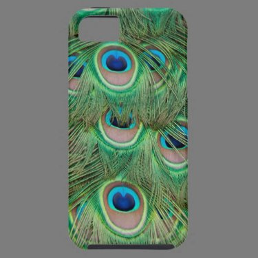 Peacock plumage iPhone 5 cover