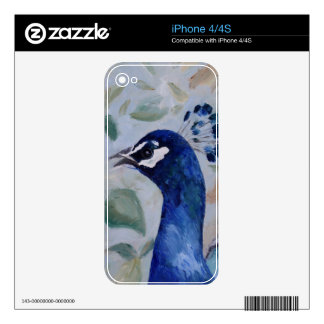 Peacock Portrait IPhone Skin Skins For The iPhone 4