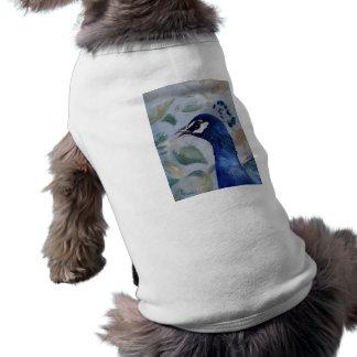 Peacock Portrait Pet Clothing