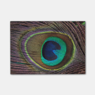 Peacock Post-it® Notes
