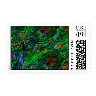 Peacock. Postage