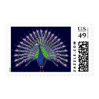 Peacock Postage Stamps