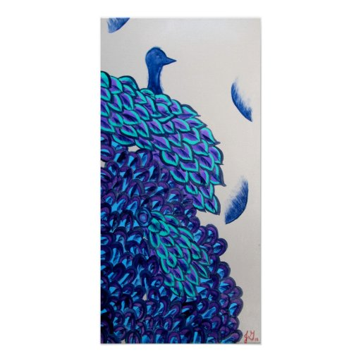 Peacock Poster