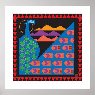 Peacock-Print