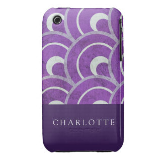 Peacock Purple iPhone 3 Cover