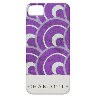 Peacock Purple iPhone 5 Cover
