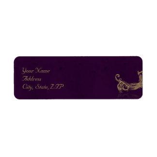 Peacock Regency in Purple Label