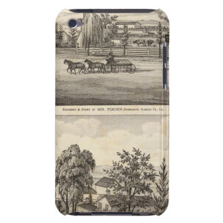 Peacock res, Willow Glen iPod Case-Mate Case
