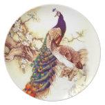 Peacock Royal Dinner Plate