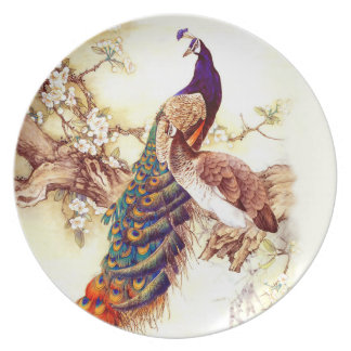 Peacock Royal Dinner Plate