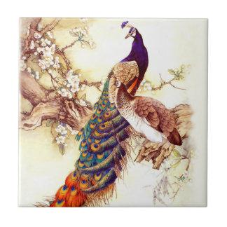 Peacock Royal Tile