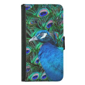Peacock Samsung Galaxy S5 Wallet Case